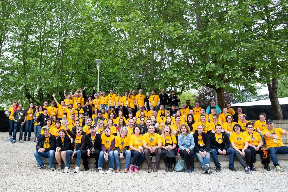 Les bénévoles du Rolling Saône 2015