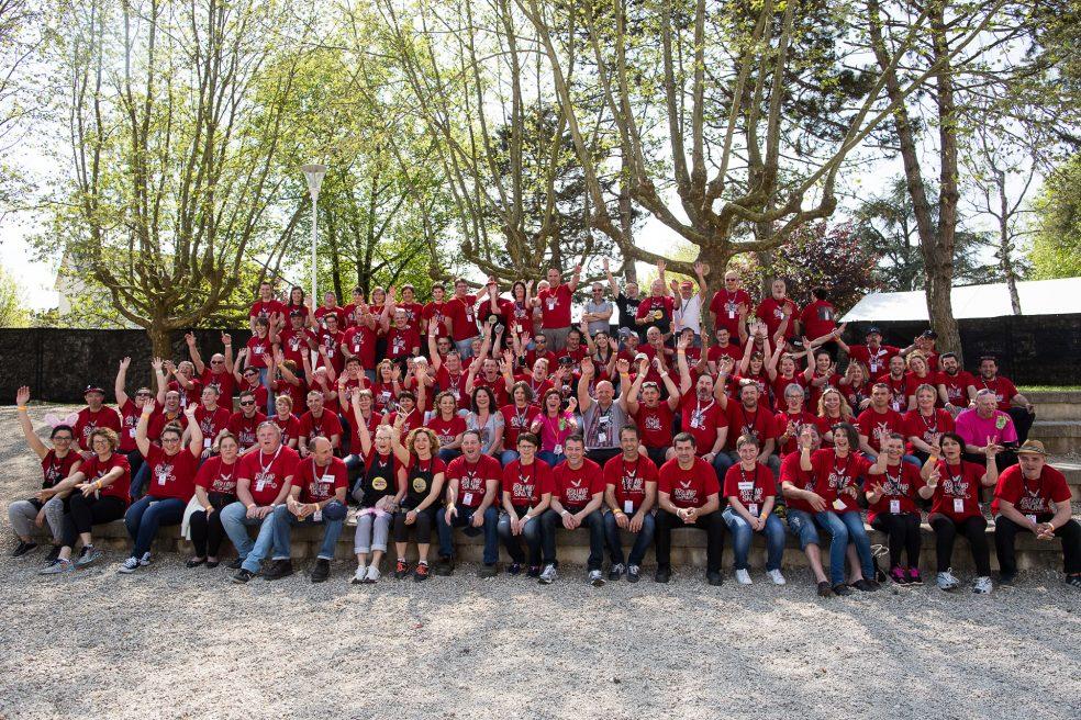 Les bénévoles du Rolling Saône 2016